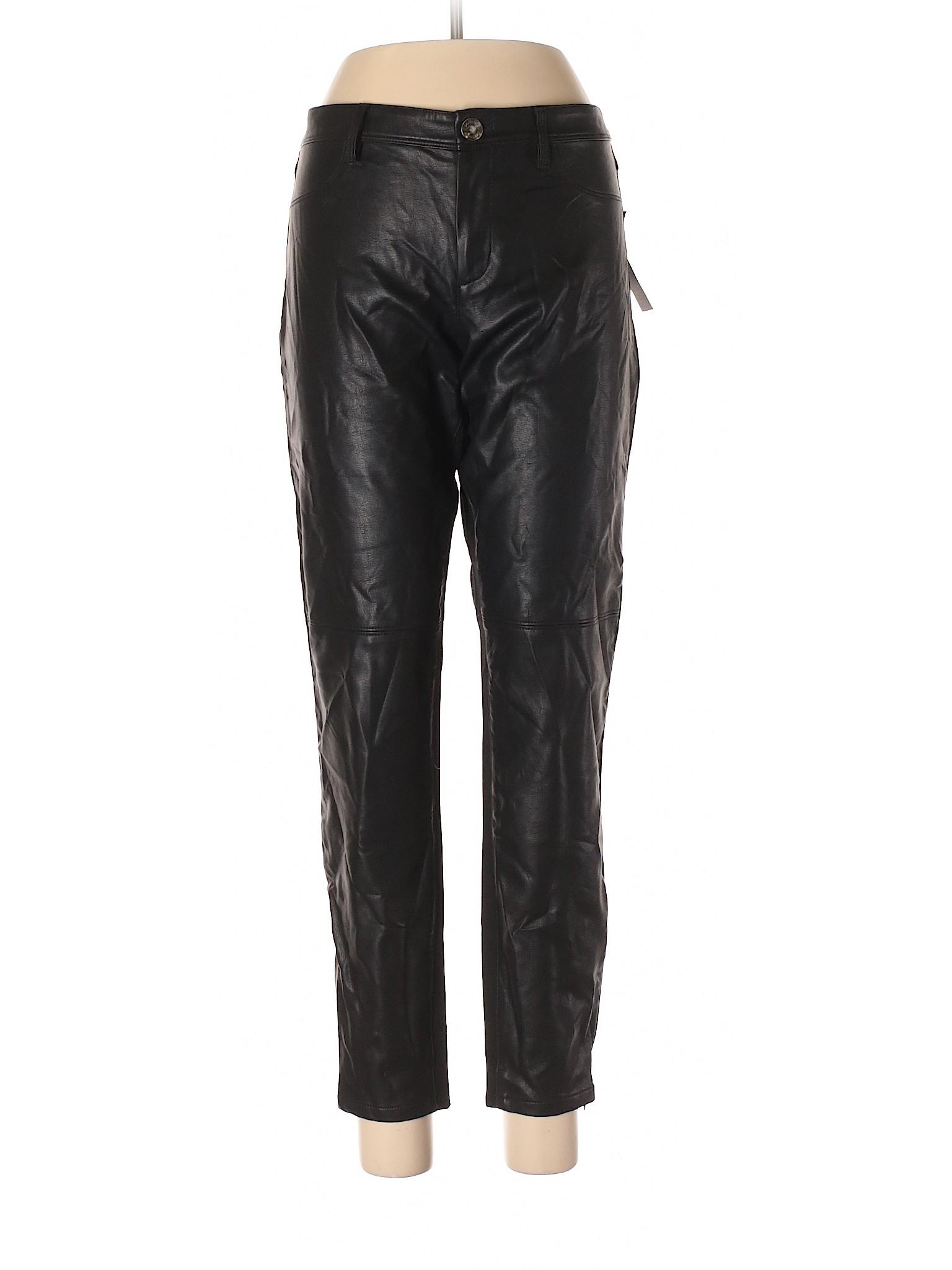 leisure Banana Faux Republic Pants Leather Boutique B1wR5qd1
