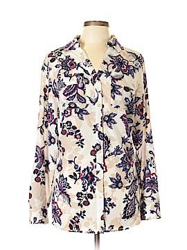 Charter Club Long Sleeve Blouse Size 1X (Plus)