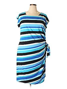 Olivia Matthews Casual Dress Size 3X (Plus)