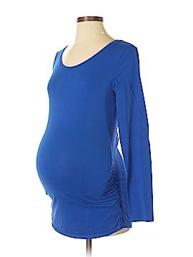 Bump Start by Motherhood Maternity Long Sleeve T-Shirt Size S (Maternity)