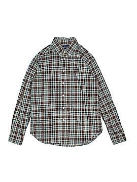 Polo by Ralph Lauren Long Sleeve Button-Down Shirt Size 14 - 16