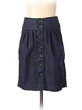 Pilcro and The Letterpress Denim Skirt Size 00