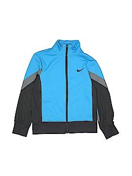 Nike Faux Leather Jacket Size S (Kids)