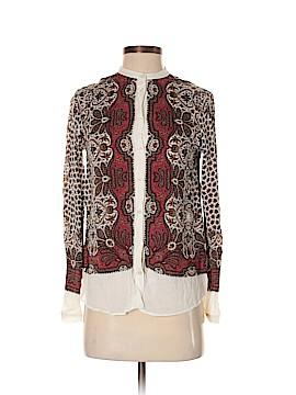 Massimo Dutti Long Sleeve Button-Down Shirt Size 2