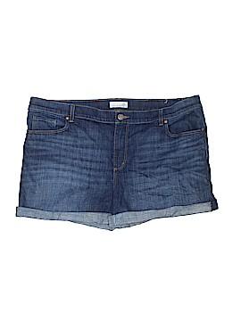 Ann Taylor LOFT Denim Shorts Size 18 (Plus)