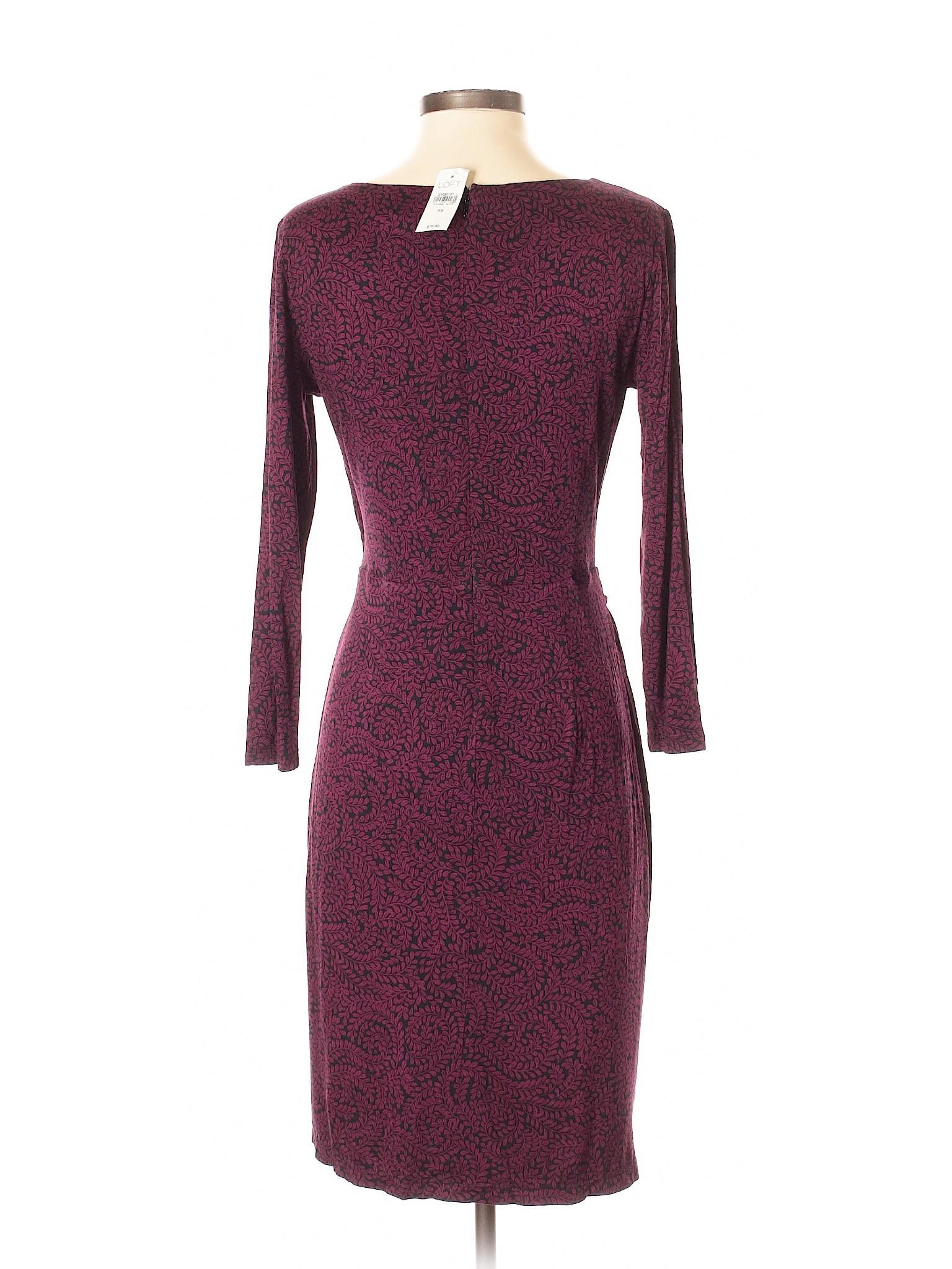 Ann Dress Taylor LOFT Casual winter Boutique 0UzZOz