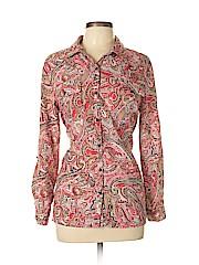 Notations Women Long Sleeve Blouse Size L