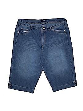 Bandolino Denim Shorts Size 16