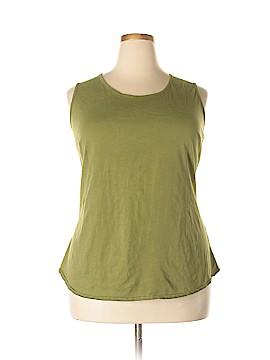 Denim 24/7 Sleeveless T-Shirt Size 1X (Plus)