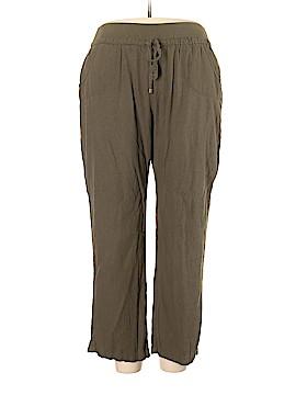Torrid Linen Pants Size 2X Plus (2) (Plus)