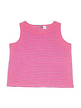 Erika & Co. Sleeveless T-Shirt Size 2X (Plus)