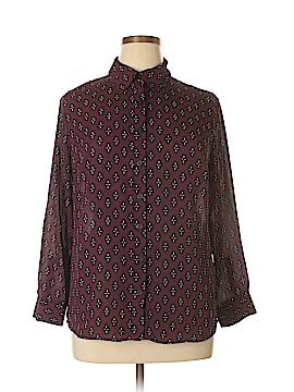 Covington Long Sleeve Blouse Size 1X (Plus)