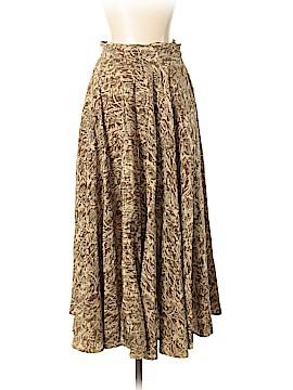 Linda Allard Ellen Tracy Silk Skirt Size 6 (Petite)