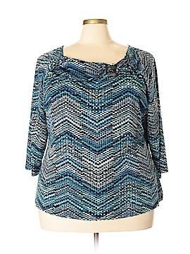 DressBarn 3/4 Sleeve Top Size 3X (Plus)