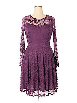 FASHION TO FIGURE Cocktail Dress Size 1X Plus (1) (Plus)