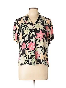Nomadic Traders Short Sleeve Blouse Size L