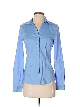 Doublju Long Sleeve Button-Down Shirt Size S