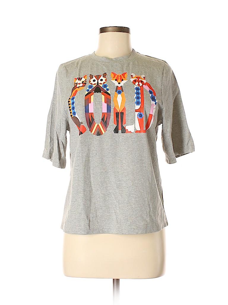 Manoush Women Short Sleeve T-Shirt Size XS