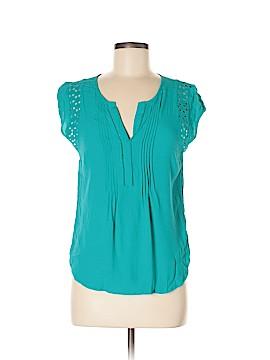 Daniel Rainn Short Sleeve Button-Down Shirt Size M (Petite)