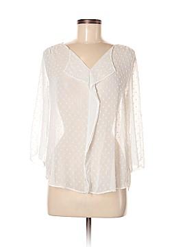 Ann Taylor Factory 3/4 Sleeve Blouse Size M (Petite)