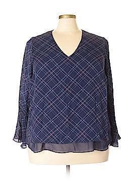 LC Lauren Conrad Long Sleeve Blouse Size 2X (Plus)