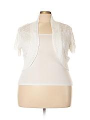 DressBarn Women Shrug Size 3X (Plus)