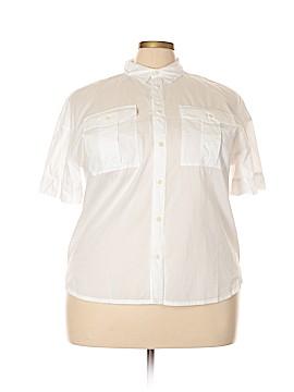 J. Crew Short Sleeve Button-Down Shirt Size XXL (Tall)