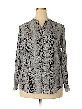 Violet & Claire Long Sleeve Blouse Size 1X (Plus)