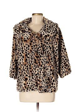 Outdoor Edition by Parkhurst Faux Fur Jacket Size M