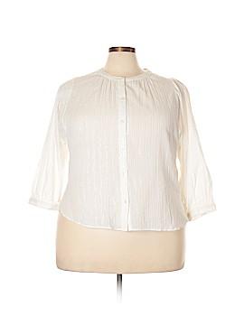 Madewell Long Sleeve Button-Down Shirt Size XXL