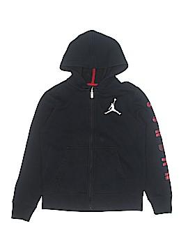 Jordan Zip Up Hoodie Size L (Youth)