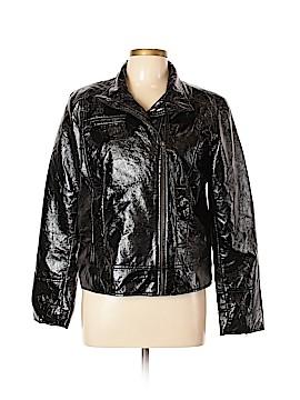 Covington Faux Leather Jacket Size L