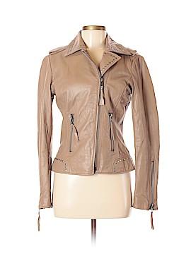 Boston Proper Leather Jacket Size 6