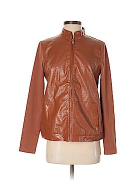 Liz Claiborne Faux Leather Jacket Size XS