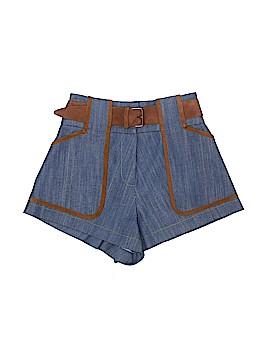 10 Crosby Derek Lam Intermix Denim Shorts Size 00