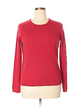 Lark & Ro Cashmere Pullover Sweater Size XL