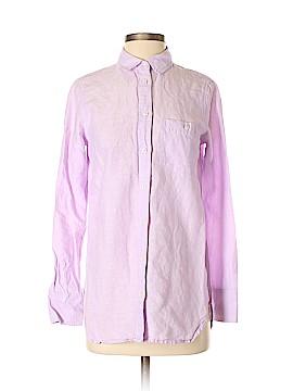 INC International Concepts Long Sleeve Button-Down Shirt Size 2