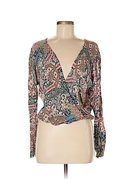 J Mode USA Long Sleeve Blouse Size L