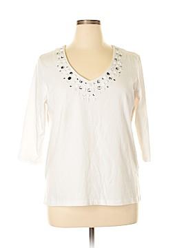 Keneth Too! 3/4 Sleeve Top Size XL