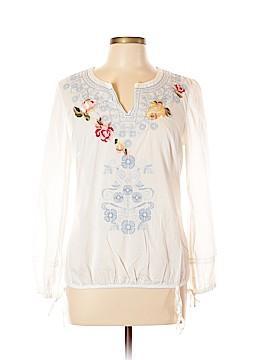 Style&Co Long Sleeve Blouse Size 10 (Petite)