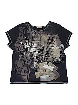 Blue Canyon Short Sleeve T-Shirt Size 1X (Plus)