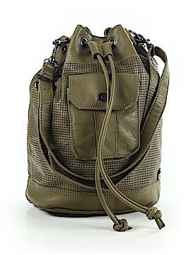 Linea Pelle Leather Bucket Bag One Size