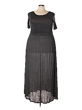 Bordeaux Casual Dress Size XL