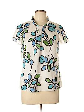 Liz Claiborne Short Sleeve Blouse Size L (Petite)