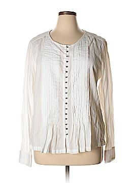 Maeve Long Sleeve Button-Down Shirt Size XL