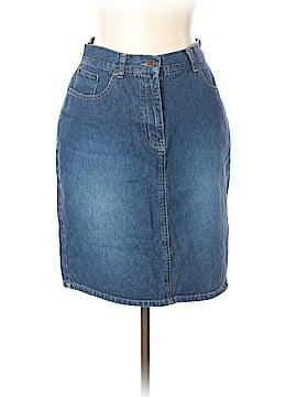 NY Jeans Denim Skirt Size 10