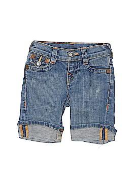 True Religion Denim Shorts Size 3