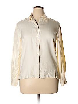 Pendleton Long Sleeve Silk Top Size 12