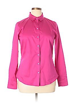 Banana Republic Factory Store Long Sleeve Button-Down Shirt Size 14