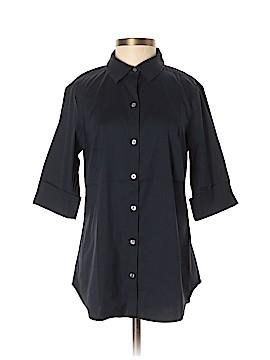Ann Taylor 3/4 Sleeve Button-Down Shirt Size 0